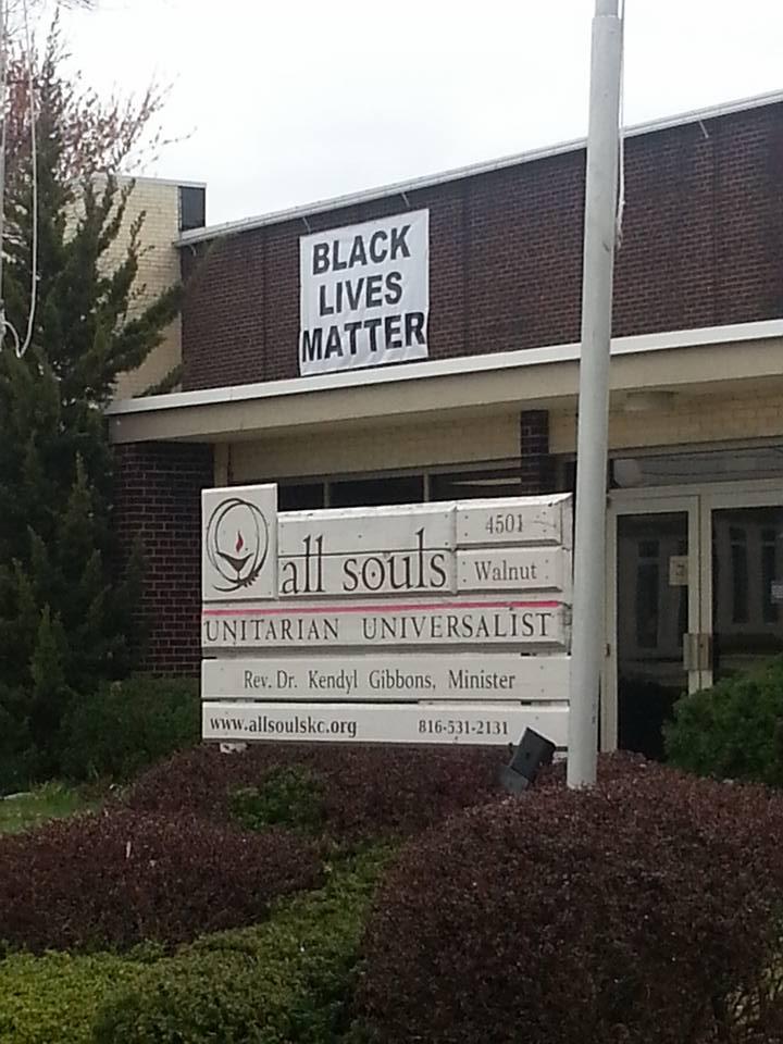 New Black Lives Matter Banner