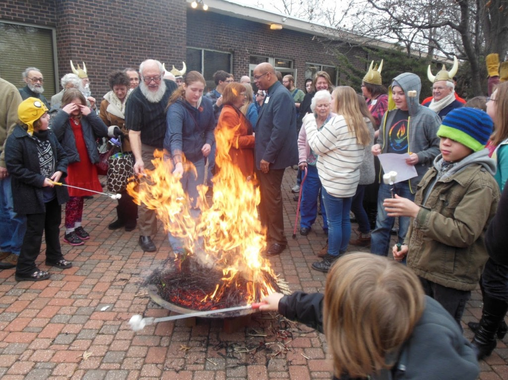 burn the goat